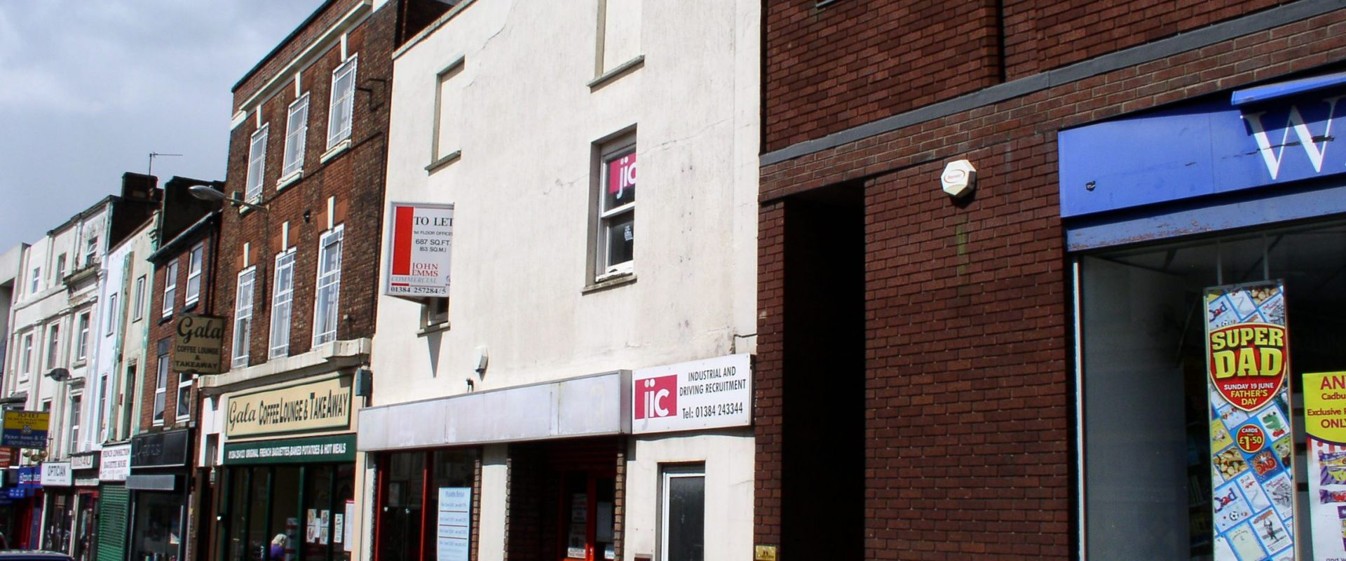 SHOP FOR SALE (FREE HOLD) INVESTMENT PROPERTY- WOLVERHAMPTON STREET DUDLEY